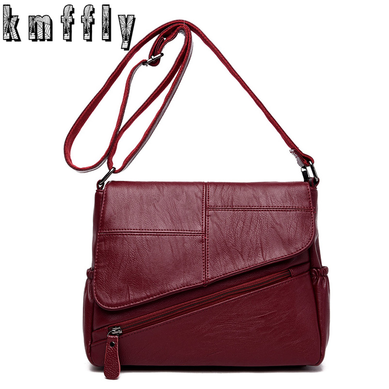 Sales Promotion! 2017 Famous Brand Female Bag Single Shoulder Lady Bag Women Messenger Bags Genuine Leather High Quality Sac iceinnight genuine leather bags new design handbag women famous brand messenger bags high quality travel shoulder bag for female