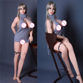 168cm Muscle Body Real Silicone Sex Dolls For Men With Big Big Breast Vagina Oral Ass Sexy  Adult Toys Masturbator Online shop