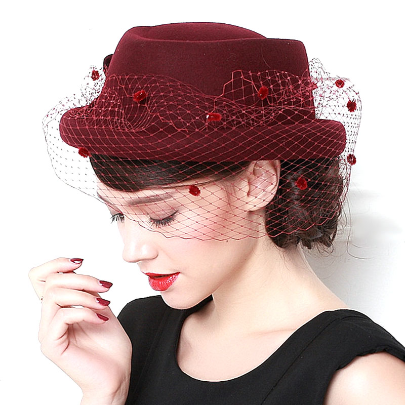 Online Buy Wholesale ladies church hats from China ladies ...