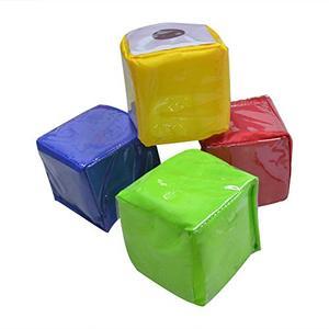 Image 3 - Godery DIY 教育サイコロを再生する、ポケットキューブ、写真ポケット泡スタッキングブロックのセット 4