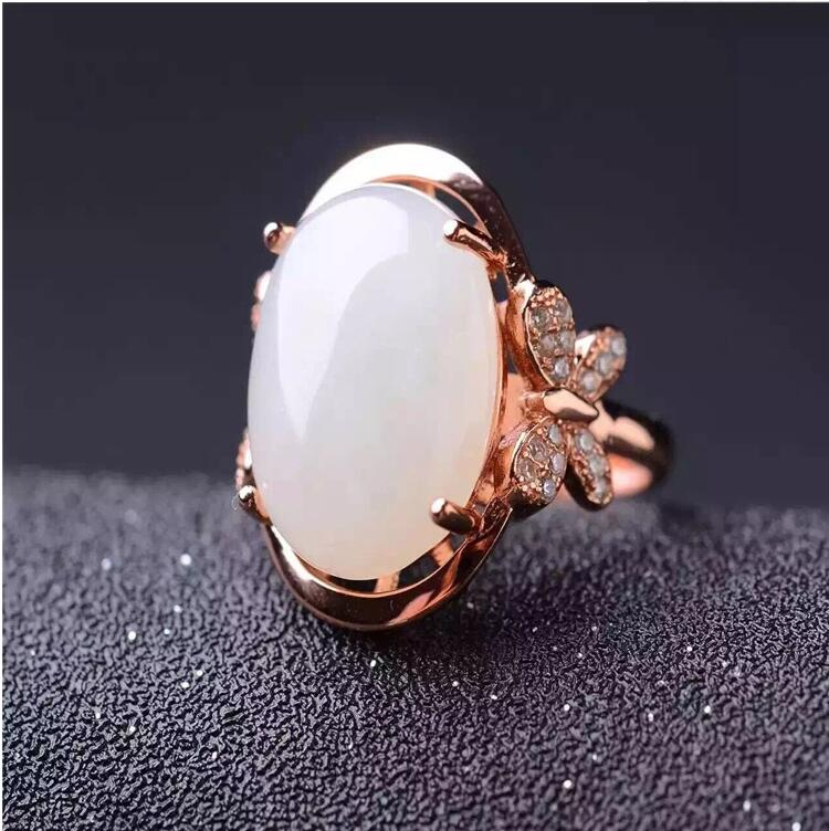 Natual Jade ring Free shipping Natural real Jape 925 sterling silver 13*18mm Fine jewelryNatual Jade ring Free shipping Natural real Jape 925 sterling silver 13*18mm Fine jewelry
