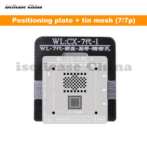 Image 5 - Wozniak WLที่ดีที่สุดสำหรับIphone 5 5s 6 6S 7 8 XS MAX Plus NANDโปรเซสเซอร์BGA ReballดีบุกสุทธิHDD Baseband Stencil Great Repairingฐาน