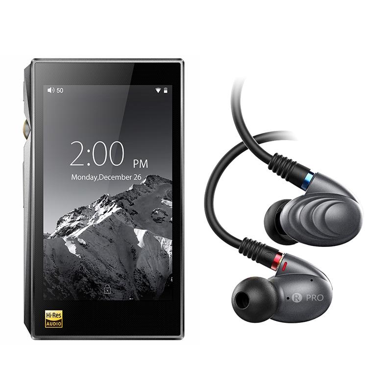 Bundle Vendita di X5III + F9PRO Portatile Hi-Res Android del Giocatore di Musica di X5 MKIII Con Knowles Tripla Driver Ibrido auricolare Cuffia F9pro