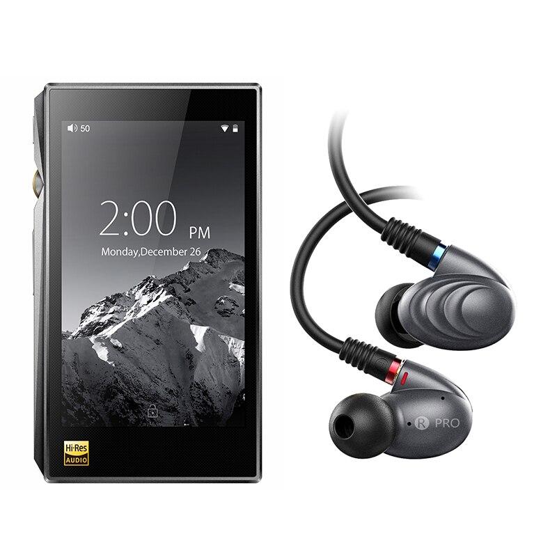 Bundle Vente de X5III + F9PRO Portable Salut-Res Android Lecteur de Musique X5 MKIII Avec Knowles Triple Pilote Hybride inEar Casque F9pro