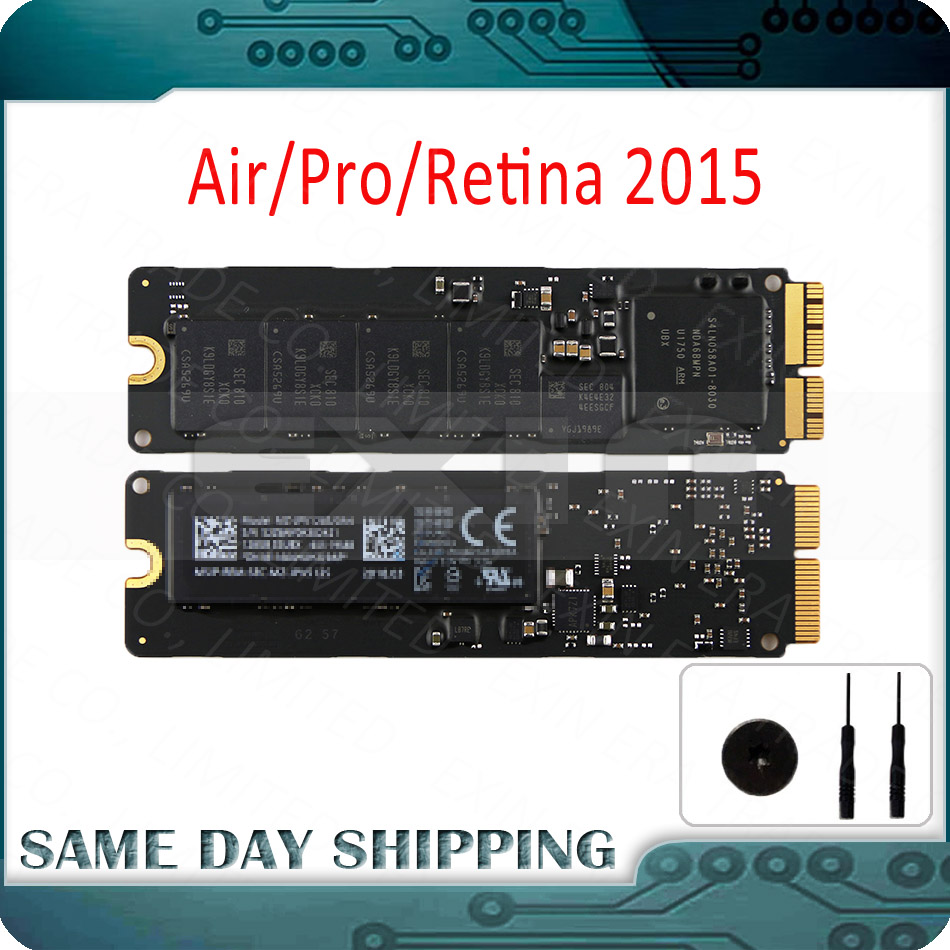 Genuine 2015 Year for Macbook Air & Pro Retina 11 13 15 A1502 A1398 A1466 A1465 SSD Solid State Drive 128GB 256GB 512GB 1TBGenuine 2015 Year for Macbook Air & Pro Retina 11 13 15 A1502 A1398 A1466 A1465 SSD Solid State Drive 128GB 256GB 512GB 1TB