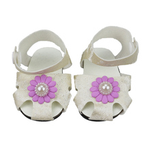 18-inch Doll Shoes-My Little Baby Accessories for 18 doll-Fashion Toy 7cm Sandal fit Girls Gift
