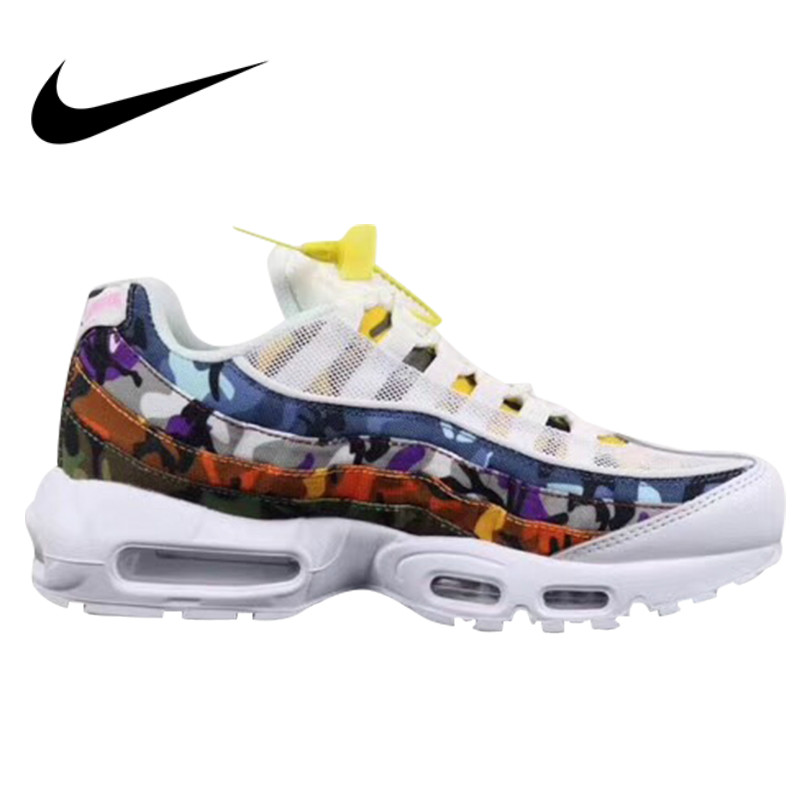 Original authentic Nike Air Max 95 mens running shoes sports shoes jogging outdoor sports designer sports shoes AR4473-100Original authentic Nike Air Max 95 mens running shoes sports shoes jogging outdoor sports designer sports shoes AR4473-100