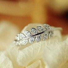 925 Women Leaf Jewelry