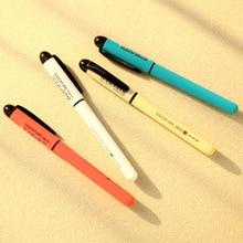 3 шт канцелярские принадлежности 47200 унисекс перо без стираемую ручка унисекс 0.5 гелевая ручка 4 цвета выбрать обучения Essentia 3 вида цветов