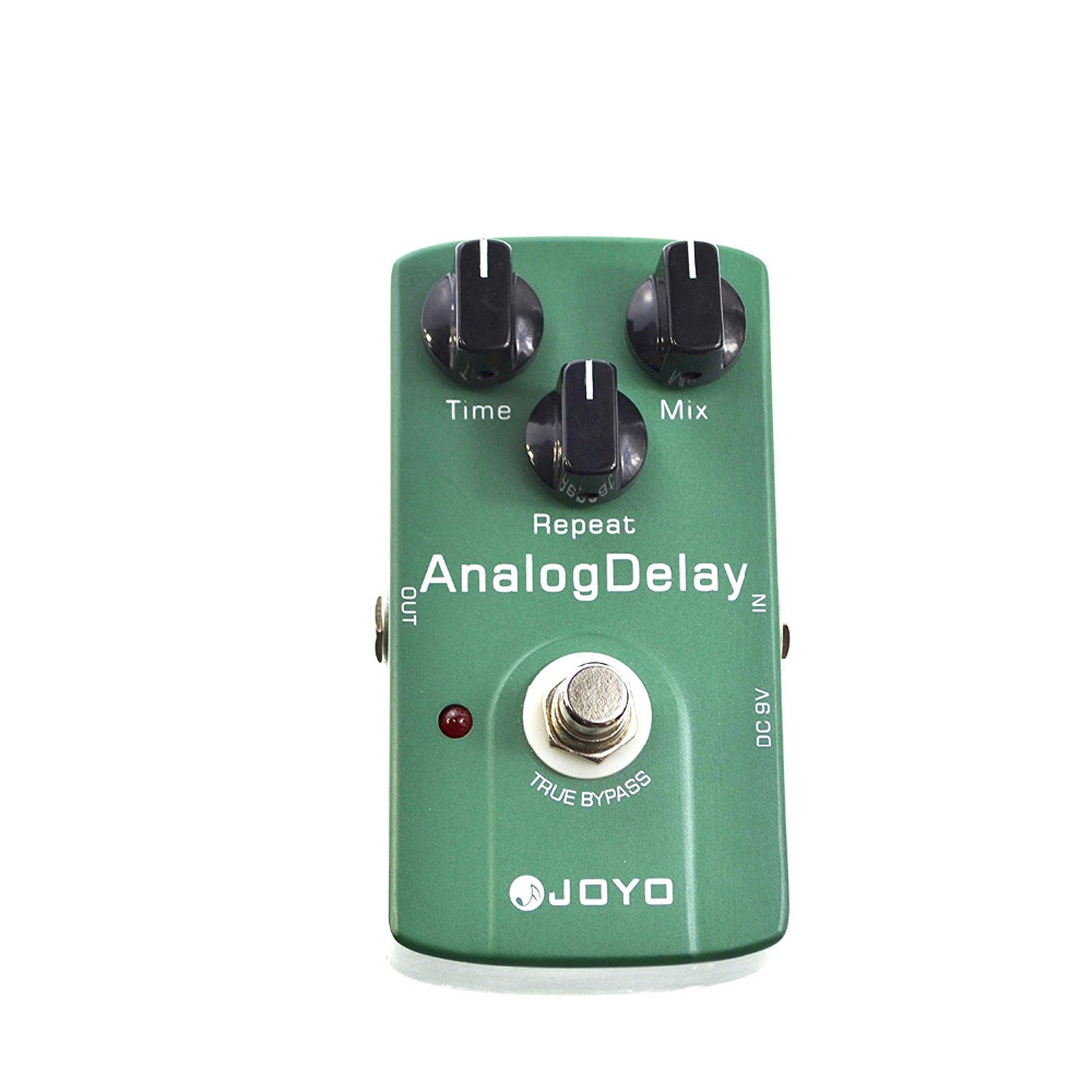 JOYO JF-33 Analog Delay Electric Guitar Effect Pedal True Bypass joyo ironman orange juice amp simulator electric guitar effect pedal true bypass jf 310 with free 3m cable