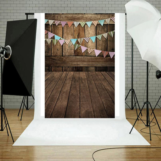Creative Wood Wall Floor Photography Studio Prop Backdrop Background 3x5FT  DIY Home Decoration Accessory Photography Background