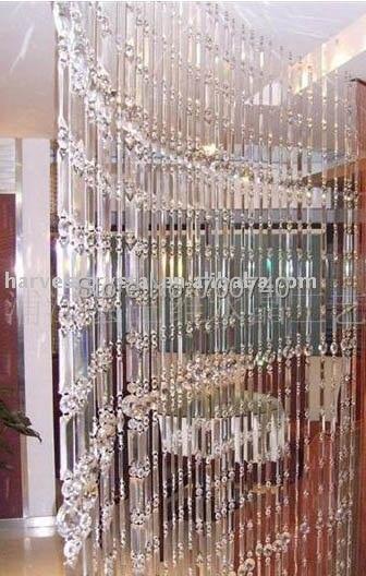 Free shipping Crystal Room DividersCrystal Curtain ChainOEM