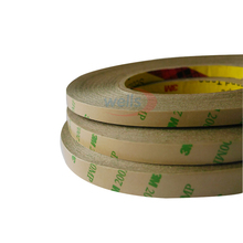 50M/Roll Double Sided Tape 8mm 10mm 12mm 3M Adhesive Tape for 3528 5050 ws2811 ws2812 Led strip 40mm 50m double coated adhesive tape surface sticky good adhesion 3m 9080 tablet wire glass and cable clip led attachment