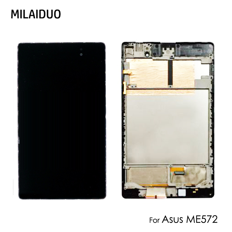 Original LCD Display For Asus Nexus PAD 7 2nd ME572 ME572C ME572CL Panel Touch Screen Digitizer Glass Assembly with Frame 7''