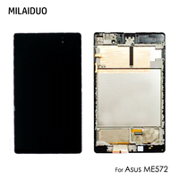 Original LCD Display Panel For Asus Nexus PAD 7 2nd ME572 ME572C ME572CL Touch Screen Digitizer Glass Assembly with Frame 7''