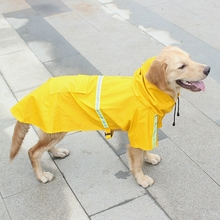 Fashion Pet Dog Raincoat For Small Coats Jackets 2019 New Reflective Medium Large Dogs Waterproof Clothes