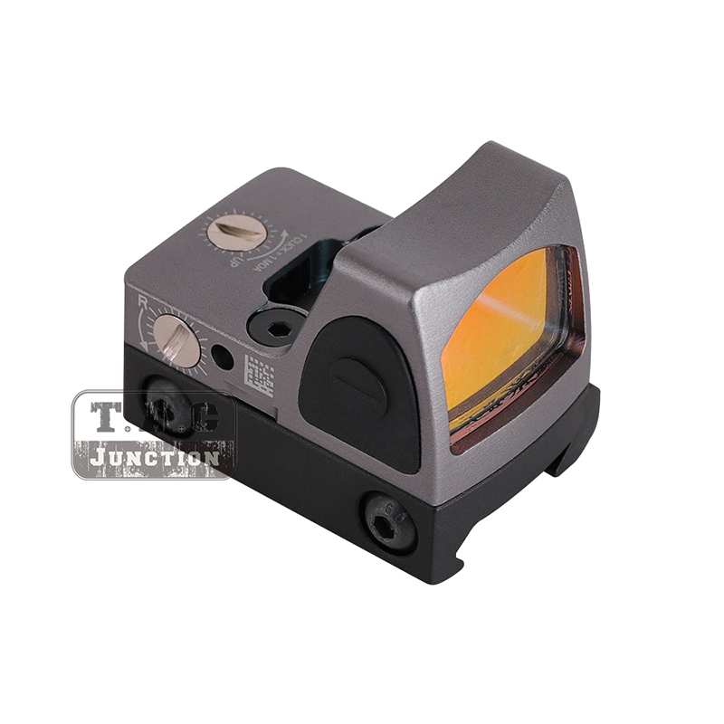 Tactical Type 2 Adjustable LED Reflex Sight 6.5 MOA Red Dot Windage Elevation Adjustment for Picatinny Rail Glock MOSTactical Type 2 Adjustable LED Reflex Sight 6.5 MOA Red Dot Windage Elevation Adjustment for Picatinny Rail Glock MOS