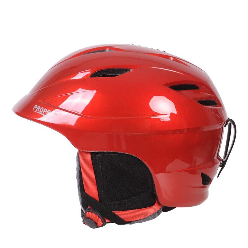 PROPRO Super light quality ski helmet outdoor Skateboarding veneer double plate Skiing Helmets Snowboard Sport Head Protection