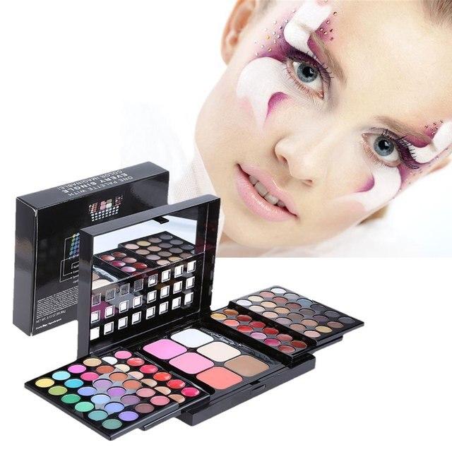 Magic 78 Colors Easy To Wear Brighten Cosmetics Makeup Tool Waterproof Long Lasting Eye Shadow Palette2