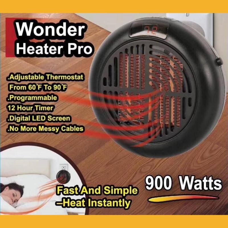 Alloet 900W Electric Heater Mini Fan Heater Desktop Household Wall Handy Heater Stove Radiator Warmer Machine for Winter все цены