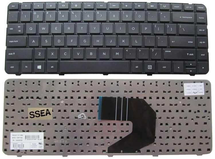 SSEA New US Keyboard for HP Pavilion G4 G6 CQ43 G43 CQ43-100 CQ57 CQ58 430 2000 1000 240 G1 245 G1 246 G1 255 G1 250 G1