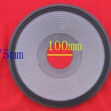 """2 шт. 1"""" 15 дюймов 3 линии низкочастотный динамик с басами громкий динамик бас динамик ткань объемная бумага конус(100 мм Центр отверстия) 70 мм высокий"""