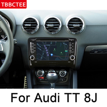 For AUDI TT 8J 2006~2014 MMI HD IPS Screen DSP Stereo Android  Car DVD GPS Navi Map Multimedia Player Radio WiFi System Map HD yessun car android player multimedia for toyota fj cruiser radio stereo gps map nav navi navigation no cd dvd 10 hd screen