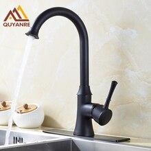Бортике раковина ванная кухня смеситель с 6 дюймов накладка черный цвет кран
