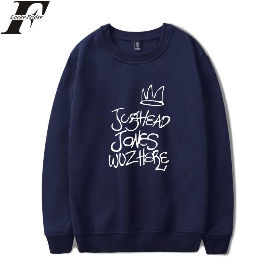 LUCKYFRIDAYF Kpop Riverdale Sweatshirt Hoodies Women/Men Long Sleeve Style Hoodies Sweatshirt Clothes Women/Men Plus Size 4XL