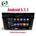 HD 1024*600 2 5.1.1 DIN Quad Core Android Coches Reproductor de DVD GPS de Radio para Opel Astra H Corsa Vectra Zafira B C G estéreo del coche 3G WIFI