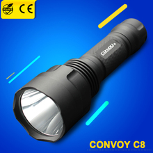 Waterproof Convoy C8 font b Cree b font Rechargeable Blacklight Diving Riding Hunting font b Torch