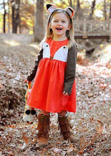 Детский маскарадный костюм лисы оранжевого цвета без рукавов с милой аппликацией застежкой-молнией на спине на возраст от 1 до 5 лет Нарядные цельнокройные платья из тюли в виде балетной пачки