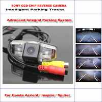 860 Pixels Car Rear Back Camera For Honda For Accord / Inspire /Spirior Rearview Parking 580 TV Lines Dynamic Reverse Tragectory