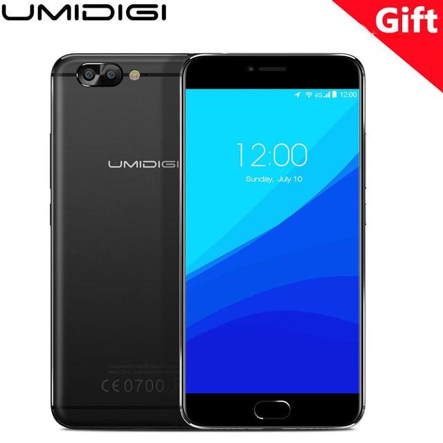 "Original UMI Z Pro Mobile Phone Umidigi zpro 5.5"" MTK Helio X27 Deca-core 4G+32G 3D Capture 13MP Camera Fingerprint ID Cellphone"