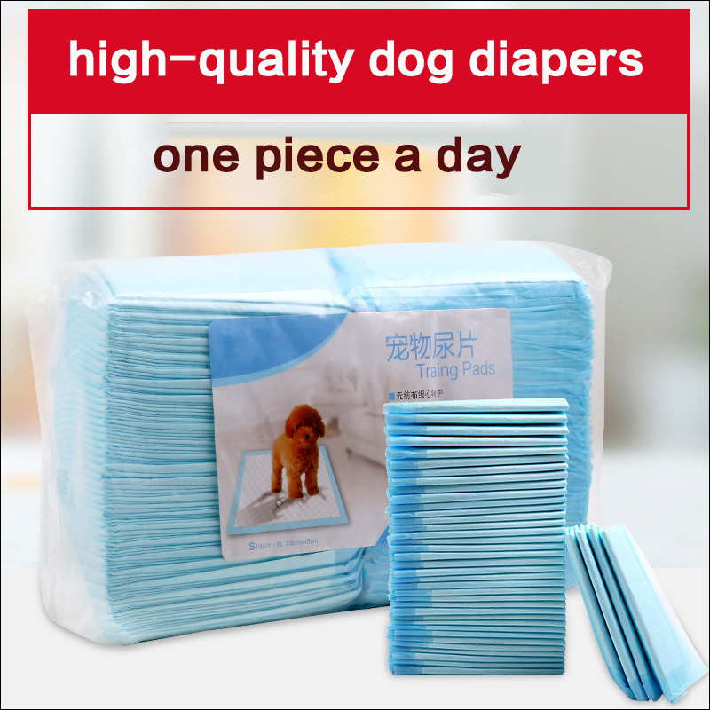2017 hot sale Absorbent pet Diapers Dog Cat Indoor Toilet Training Pads size S-XL thick pet disapers for chihuahua freeshipping