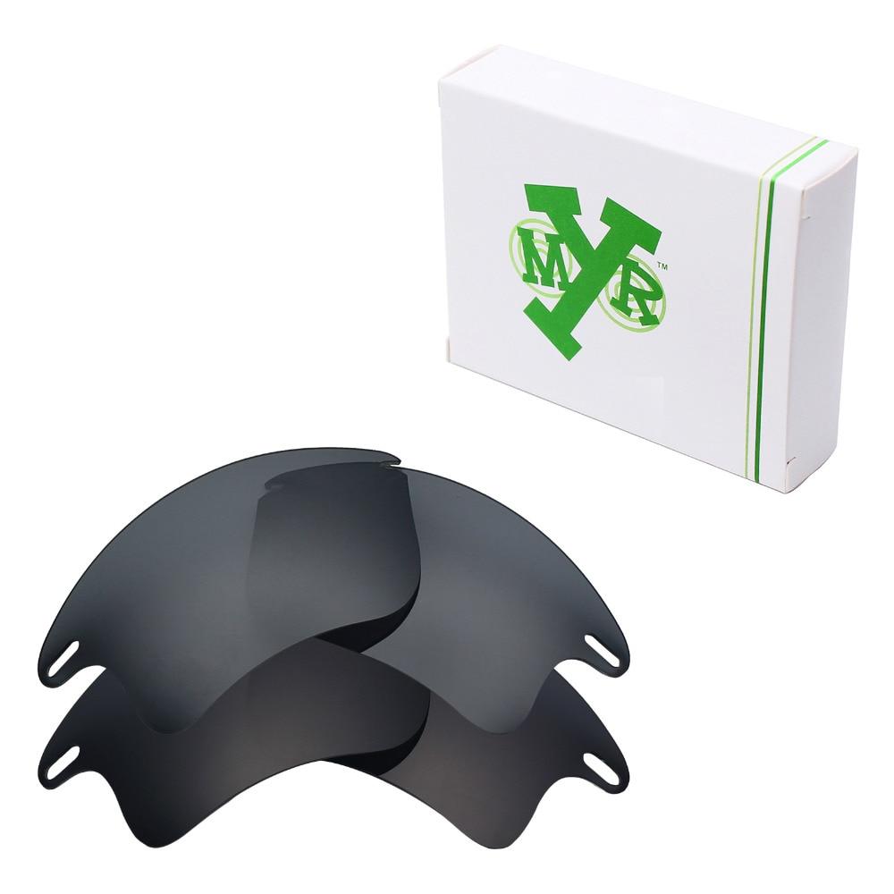 0f172b9a59 Stealth Black & Black IRIDIUM 2 pares mryok polarizado Objetivos para Oakley  Fast jacket XL Gafas de sol