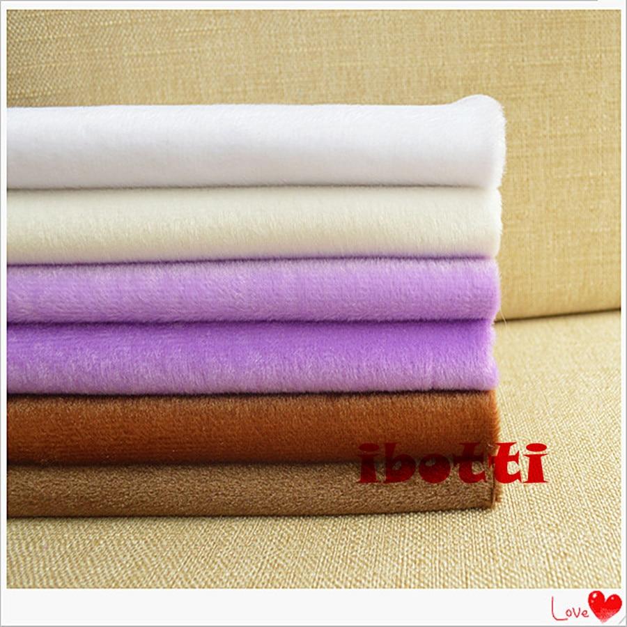 ᗗ6 Pçs/lote 40*50 cm Cor Sólida Tissus Telas Patchwork Costura