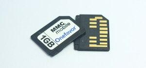 Image 2 - 13 Chân Onefavor 128 Mb 256 Mb 512 Mb 1GB 2GB RS MMC Thẻ Di Động Đa Phương Tiện Thẻ RS MMC Dual điện Áp MMC Với Giá Rẻ Adapter