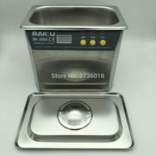 Smart BK-3550 digital ultrasonic cleaner household ultrasonic bath for mobile phone pcb board cleaning watch jewelry cleanning