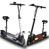 48v500w adult electric scooter long distance100km 48v 26a with seat foldable hoverboard fat tire electric kick scooter e scooter