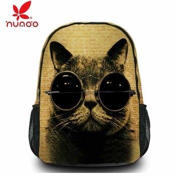 Холст школьный рюкзак для ноутбука для macbook pro/air 15 15,6 рюкзак для мужчин и женщин для подростков