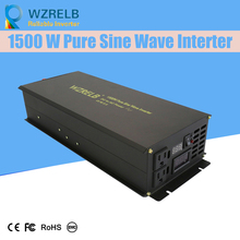 Off Grid Pure Sine Wave Solar Inverter 24V 220V 1500w Car Power Inverter 12V DC to 100V/120V/240V AC Converter Power Supply 3000w solar inverter 24v to 220v pure sine wave inverter car power auto battery voltage converter 12v 48v dc to 110 120v 220v ac