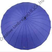 waterproof,24 ribs straight umbrella,colour gradient umbrellas,gradually changing color,water logo umbrella