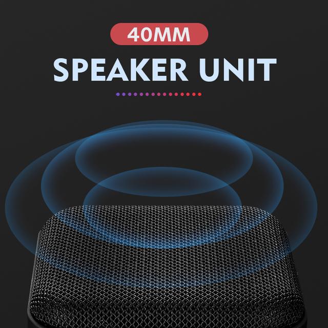 Portable Wireless Bluetooth Mini Loudspeaker
