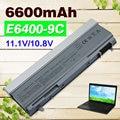 11.1 v 6600 mah 9 células bateria para dell latitude e6400 e6410 e6500 e6510 precision m2400 m4400 m4500 m6400 m6500