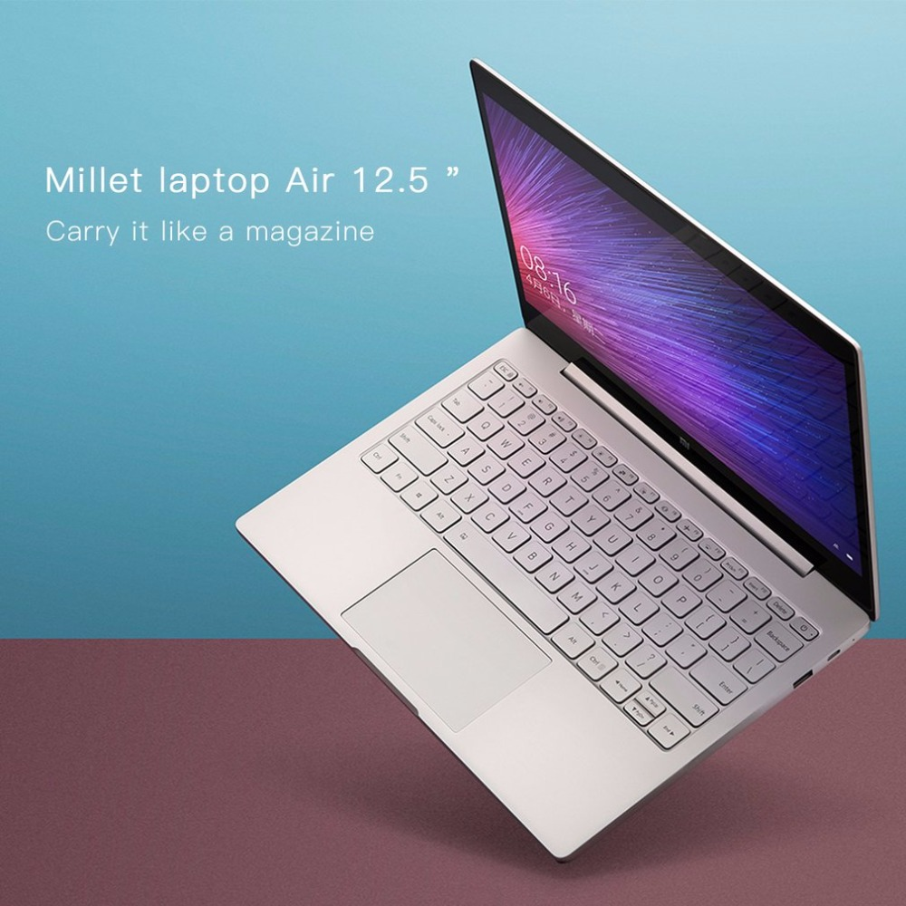 Xiaomi Laptop Notebook Air HD 12.5 inch Intel CoreM-7Y30 Dual Core 4GB RAM 128GB SSD for Windows10 with M3 Processor chuwi lapbook 12 3 inch laptop windows10 6gb ram 64gb rom intel apollo lake n3450 quad core 2k screen m 2 ssd ports