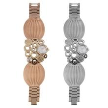 New Quartz Analog Small Womens Dress Bracelet Wrist Watch Artistic Decoration Relogio Saat