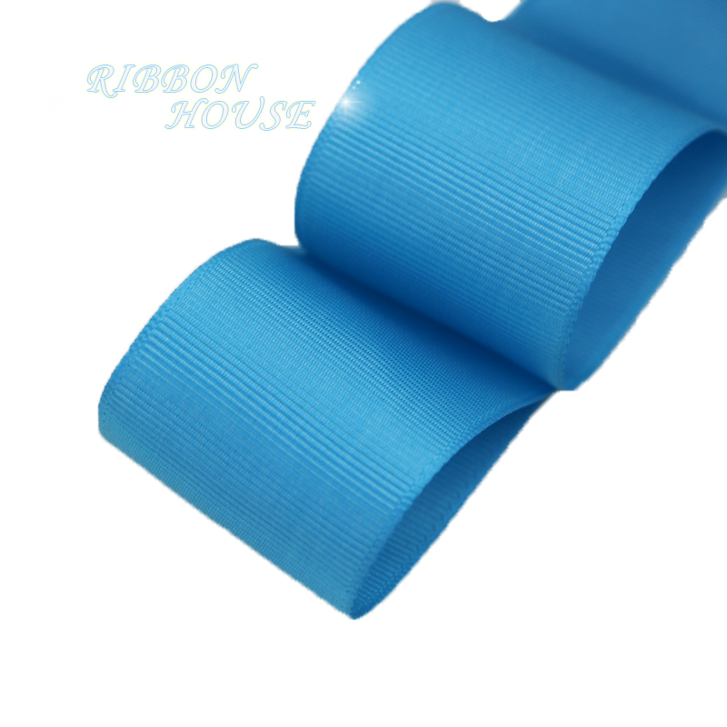 (5 м/лот) 40 мм озеро синий корсажная лента подарочная упаковка оптом Новогоднее украшение ленты