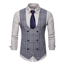 Fashion Men Vest Smart Casual Clothes  Slim Fit Vests for