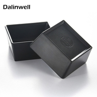 1pcs 2017 New Restuarant Tableware Supplier 4inch Square Candy Container Tea Boll Box Table Storage Rice